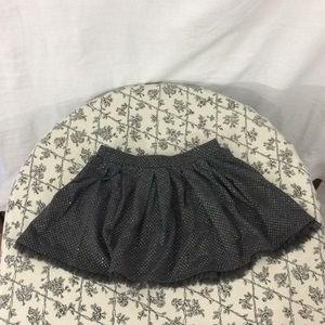 Epic Threads Sparkle & Tulle Gray Skater Skirt